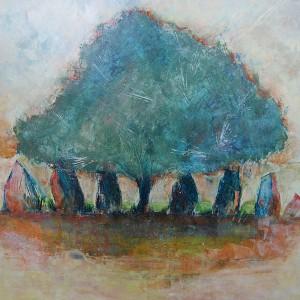 林檎の木の下で