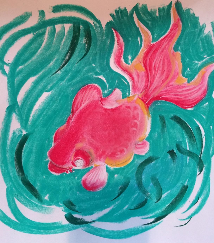 gold fish(sketch)